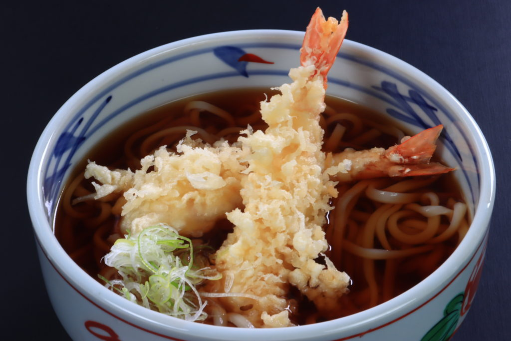 天ぷら蕎麦、うどん